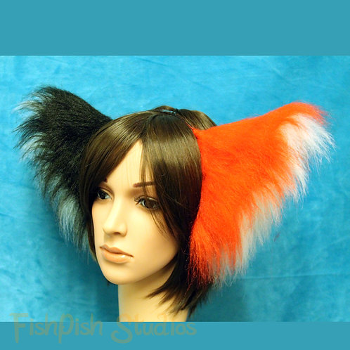 Four Coloured Super Fluffy Party Cat Ears