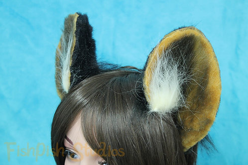 Tufted Flexi Wild Dog Headband