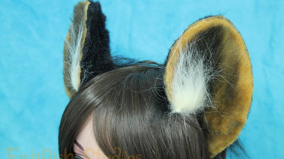 Tufted Flexi Wild Dog Headband