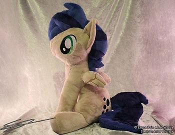 Custom sitting pony soft toy