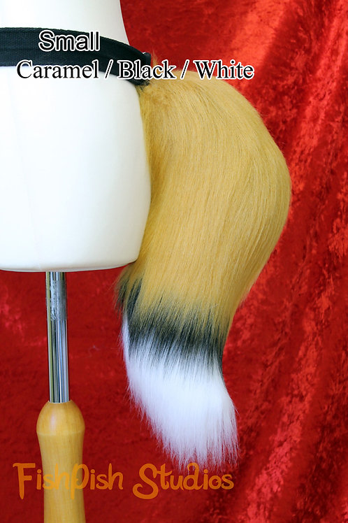 Small Fox - 3 Colours - Fursuit Cosplay Tail