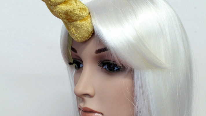 Medium Unicorn Horn for Cosplay and Costumes