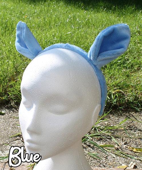 Minky Pony ears - Headband or Clips