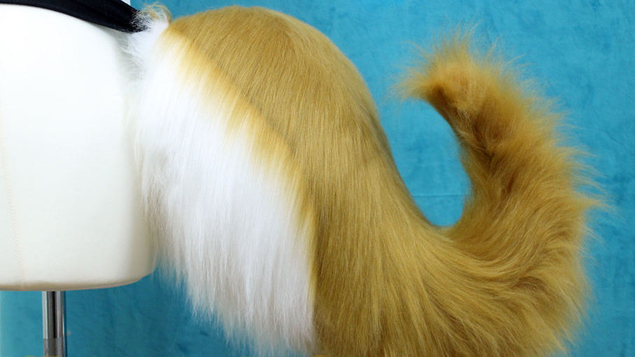 Anime Styled FoxGirl Tail ~ Great for Tamano No Mae / Fate Grand Order Cosplay