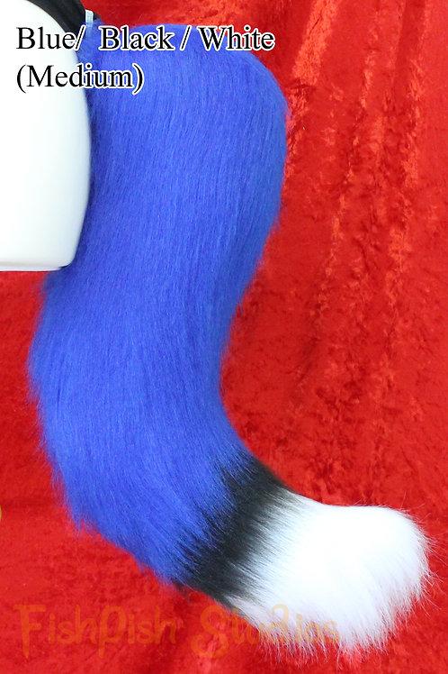 Medium Fox - 3 Colours - Fursuit Cosplay Tail