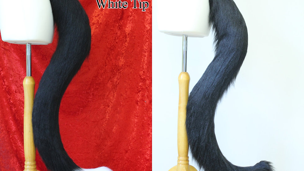XL Kitty Cat Styled Fursuit Cosplay Tail - One or Two Colours