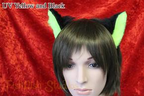 Example Mini Ears UV Yellow/Black