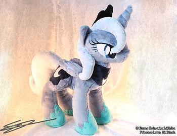 Princess Luna inspired plushie
