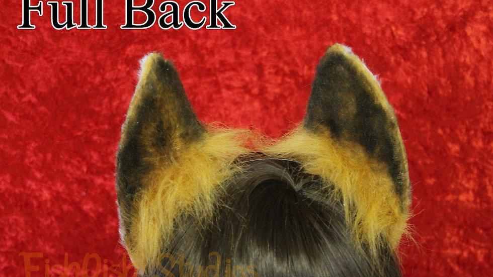 Flexi Fox Ear Headband, with detailing