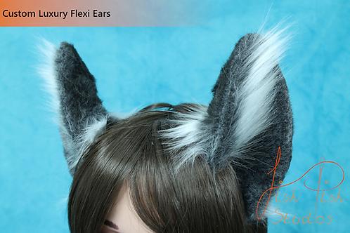 Luxury Faux Fur Flexi Ears - Cat