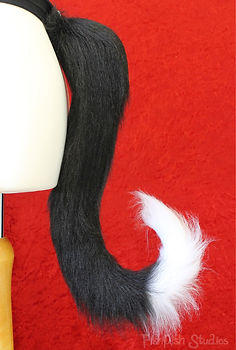 Small cute cat tail for halloween and costumes