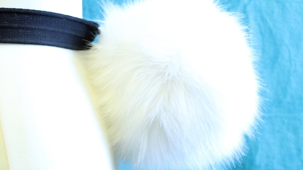 Fluffy Round Bunny Tail - Luxury Faux fur