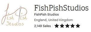 FishPish Studios etsy 5 star review