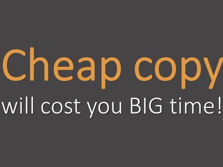 Is a freelance copywriter worth the money?