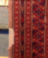 repair missing side on an oriental rug