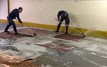 oriental rugs cleaned by our technicians