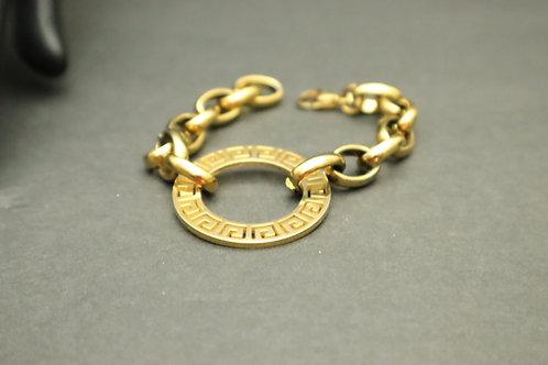 gold medal stainless steel bracelet