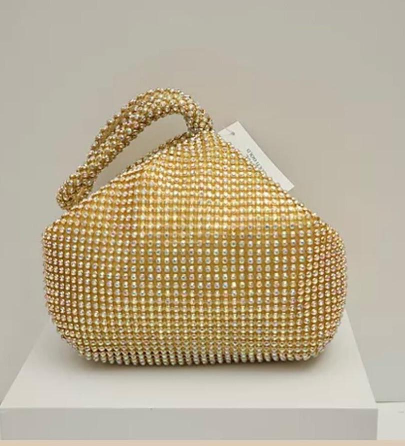 gold clutch / purse