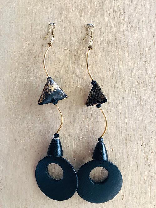 long black earring