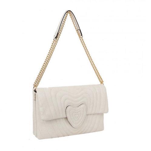 Fashion quilted satchel/messenger bag