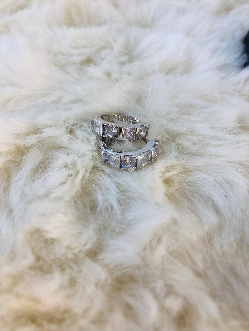 Silver filled earrings