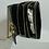 Thumbnail: black and gold cross body bag