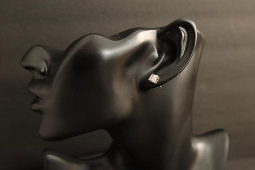 Serling silver multi stone earring