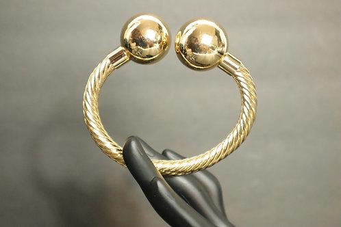 Rope gold filled bracelet