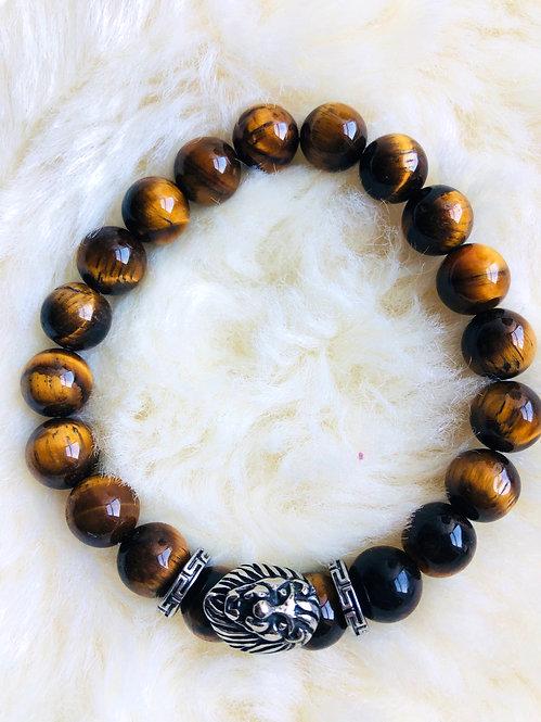 Tiger eyes beaded bracelet
