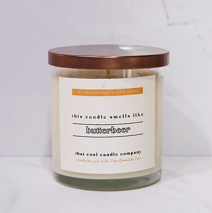 Butterbeer Candle
