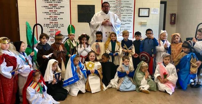 All Saints Day Mass Kindergarten.JPG