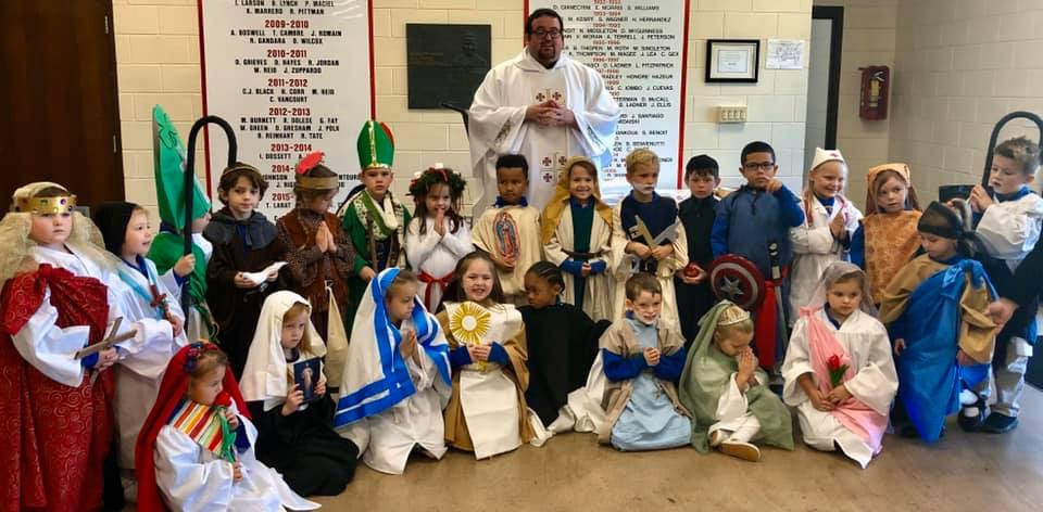 All Saints Day Mass Kindergarten.JPG