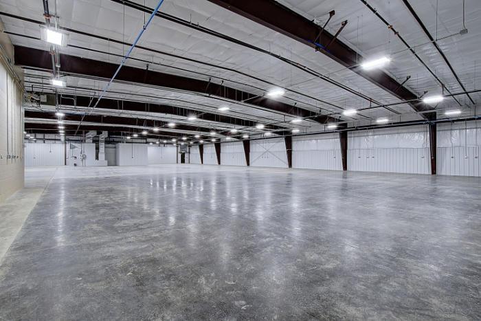 Joe Hudson's Collision Center interior work area finished
