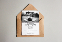 Monica's Going Away Party Invitation