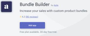Bundle Builder App for Shopify