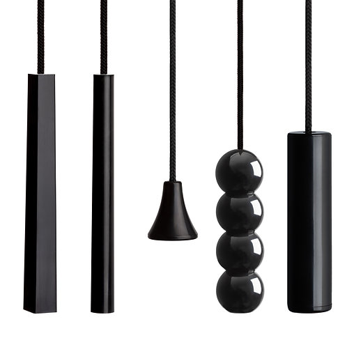 Contemporary 'Black Edition' Cords and Handles.