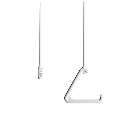Pull Cord String and Functional Handle for Bathroom Light or Ceiling Switch.