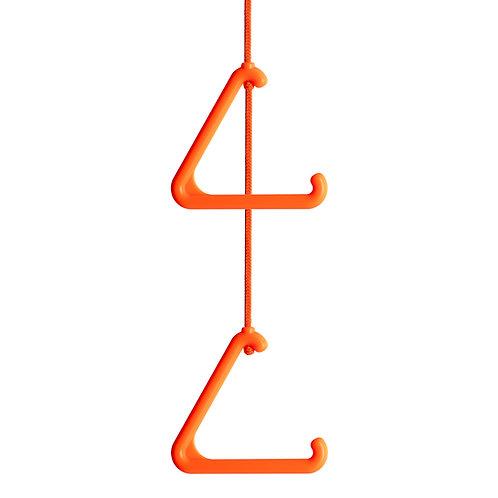 Disabled Toilet Emergency Nurse Call Alarm Pull Cord. Orange.