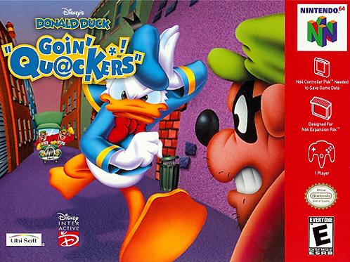Donald Duck - Goin' Quackers