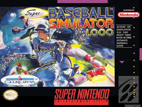 Super Baseball Simulator 1,000