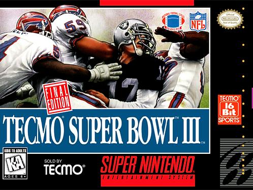 Tecmo Super Bowl III - Final Edition