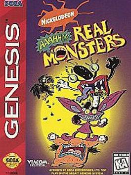 Nickelodeon Aaahh!!! Real Monsters