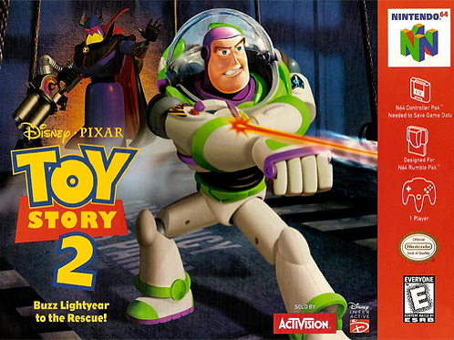 Toy Story 2 - Buzz Lightyear to the Rescue!