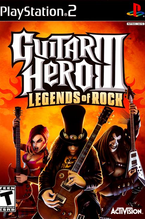 Guitar Hero III - Legends of Rock