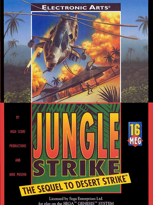 Jungle Strike: The Sequel to Desert Strike