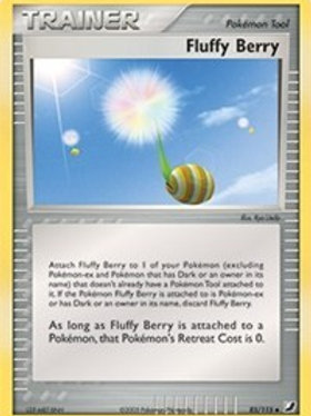 Trainer - Fluffy Berry #85