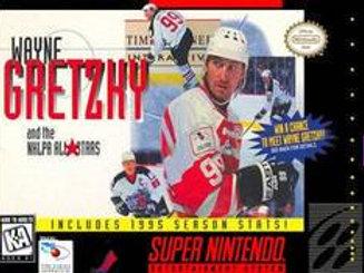 Wayne Gretzky and the NHLPA All Stars