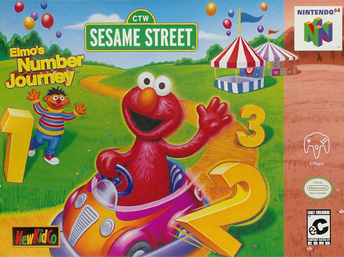 Sesame Street - Elmo's Number Journey