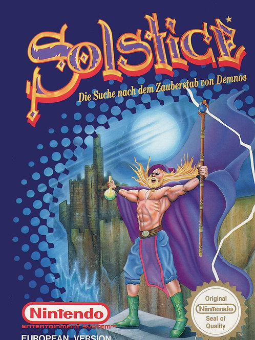 Solstice: The Quest for the Staff of Demons