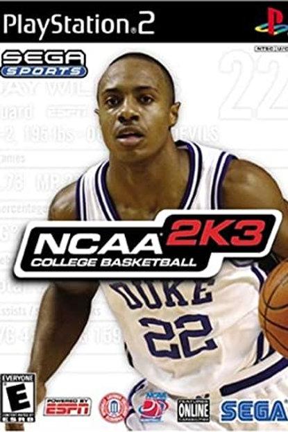 NCAA 2k3 College Basketball